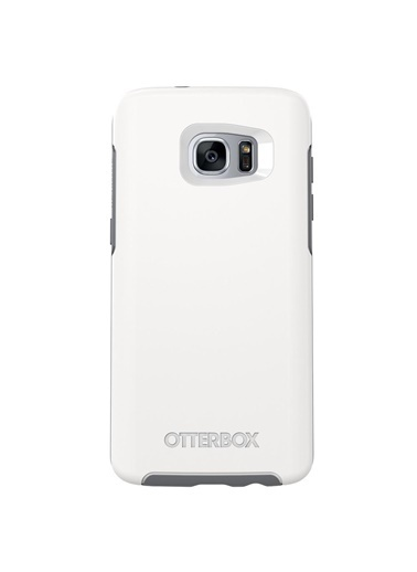 OtterBox Symmetry Galaxy S7 Edge Kılıf Rosso Corsa Red Beyaz